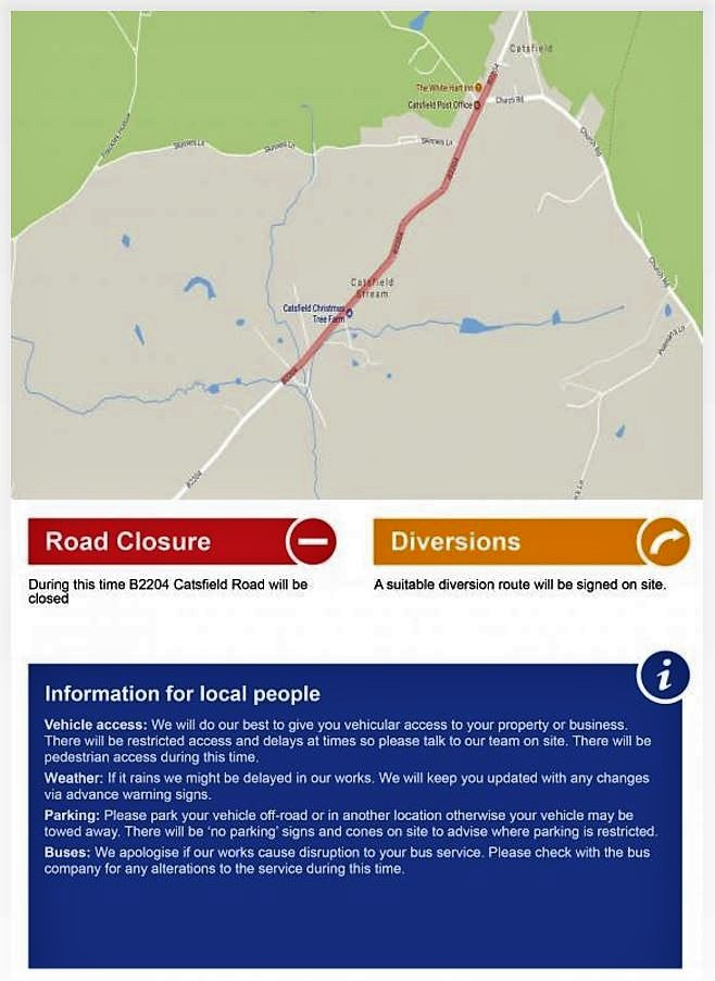 Road Closure